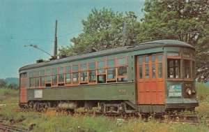 No. 832 THE DESIRE  A Streetcar Named Desire Trolley Museum Vintage Postcard