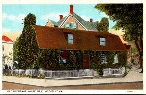 Connecticut New London Old Huguenot 1927 Curteich