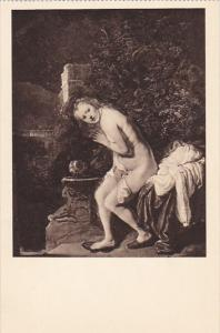 Netherlands Susanna Bathing by Rembrandt Museum Mauritshuis Den Haag