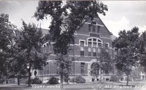 RP: SAC CITY , Iowa , 1930s-50s ;  Court House