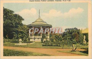 Postcard Old Band Stand Public Gardens Halifax NS