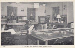 CAMP BUTNER , North Carolina , 1930s ; Typical Day Room