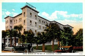 Florida St Augustine Hotel Marion On The Bay 1932 Curteich