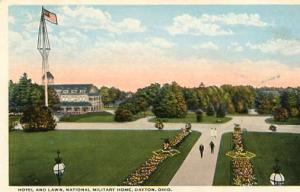 OH - Dayton, National Military Home, Hotel & Lawn