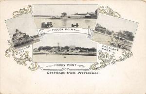 Providence Rhode Island~Fields-Rocky Points~Crescent Park~Ponham Lighthouse~1905
