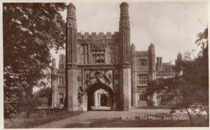 The Manor East Barsham Vintage Norfolk Village Real Photo Postcard