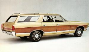 Automobile~Ambassador SST Station Wagon~American Motors~1970 Advertising PC