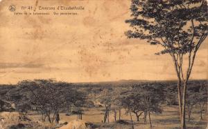 Belgian Congo Belge Lubumbashi Valley Postcard