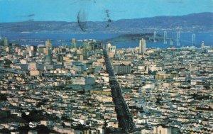 Postcard Panorama of San Francisco California