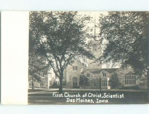 Pre-1950 rppc NICE VIEW Des Moines Iowa IA W0188