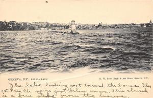 Geneva New York~Seneca Lake~1905 Postcard