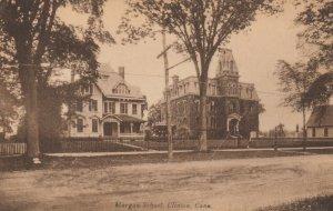 CLINTON , Connecticut , 1900-10s ; Morgan School
