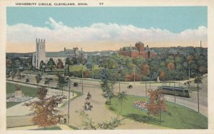 CLEVELAND , Ohio , 1910s ; University Circle, Trolley, version 2