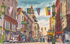 Chinatown Grant Avenue San Francisco California