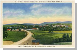 Sevierville/Knoxville,Tennessee/TN Postcard,Highway,Nr Mint!