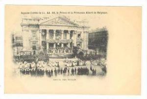 Joyeuse Entree de LL.AA.RR.le Prince et la Princesse Albert de Belgique,Pre 1905