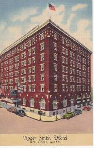 Exterior, Roger Smith Hotel, Holyoke, Massachusetts,   30-40s