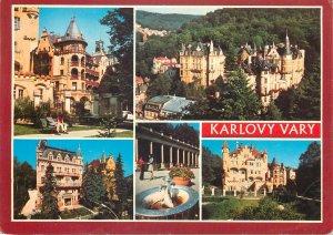 Postcard Czech republick Karlovy vary