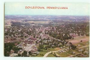 Doylestown, Pennsylvania Aerial View Postcard