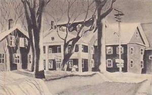 Vermont Stowe The Green Mountain Inn Albertype