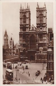 RP, St. Margaret's Church And Big Ben, WESTMINSTER ABBEY, London, England, UK...