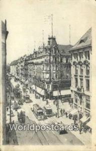 Berlin Germany, Deutschland Postcard Leipzigerstrabe, Ecke Wilhelmstrabe  Lei...