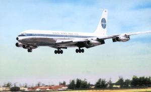Pan American Airways - Boeing 707 - At Miami International Airport