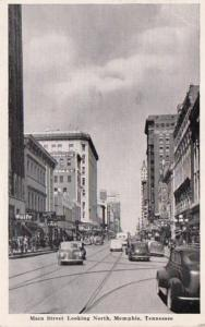 Tennessee Memphis Main Street Looking North 1943