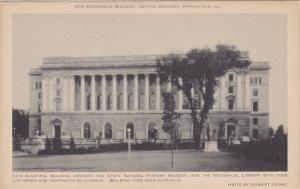 The Centennial Building, Capitol Grounds, SPRINGFIELD, Illinois, 1910-1920s