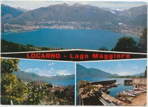 LOCARNO, Lago Maggiore, 1976 used Postcard