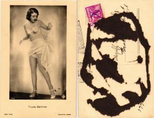 CPA AK TRUDE BERLINER Ross Verlag 6186/1 Film Star (568070)