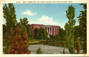 Tennessee Milligan College Boy's Dormitory