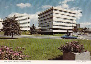 Canada Civic Square & Federal Government Building Sudbury Ontario