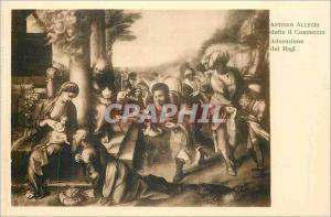 Postcard Old Antonio Allegri detto it Correggio Adoration Magi