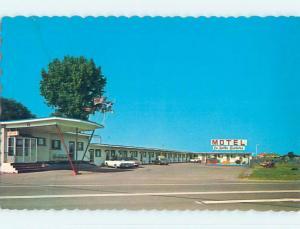 Unused Pre-1980 LA BELLE RIVIERE MOTEL Iberville Quebec QC o0268