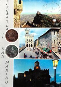San Marino Repubblica different aspects 1968