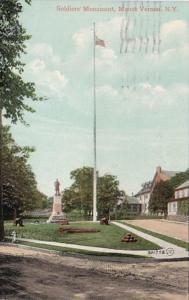 New York Mount Vernon Soldiers Monument 1909