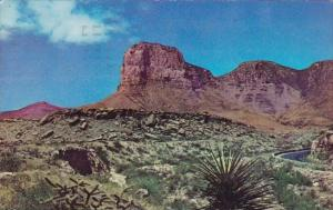 El Capitan And Guadalupe Peaks Signal Peak El Paso Texas 1963