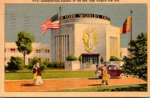 New York World's Fair 1939 The Administration Building 1939