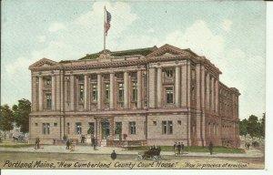 Portland, Maine, New Cumberland County Court House