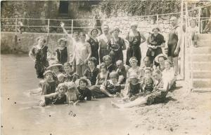 Croatia Photo Letis Rijeka Abbazia Opatija people social history bathing suits