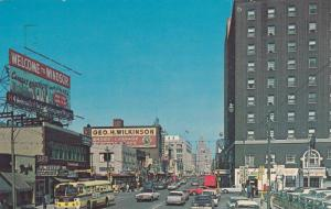 Ouellette Avenue, Jeweller Store, Prince Edward Hotel, Etc., Windsor, Ontario...