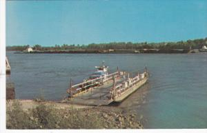 Mississippi River Reflections, Modoc Ferry Landing, 40-60s