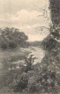 Ceylon The Canal near Wellawatta Colombo 02.96