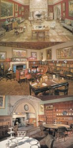 Cragside Northumberland The Library Dining Room 3x Postcard s
