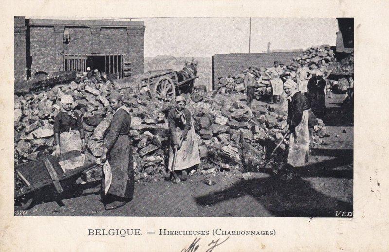 BELGIQUE.-Hierchsuses (Charbonnages) , PU-1902