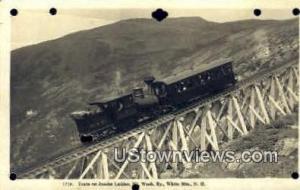 Mt. Washington Cog Railway Mount Washington NH Writing on back