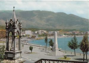SAPRI, Panorama e Obelisco a Pisacane, used Postcard