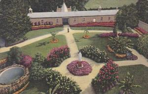 Kentucky Trappist Guests Garden Our Lady Of Gethsemani Curteich