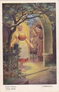 Frau Holle Mother Hulda Brothers Grimm